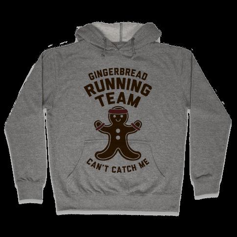 Gingerbread Running Team Hooded Sweatshirt