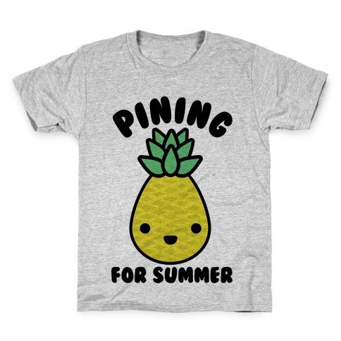 Pining for Summer Kids T-Shirt