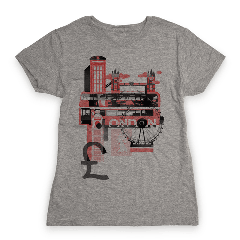 London Travel Visit Womens T-Shirt