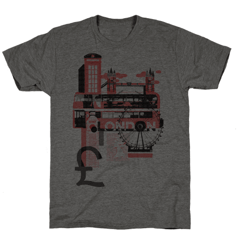 London Travel Visit Mens T-Shirt