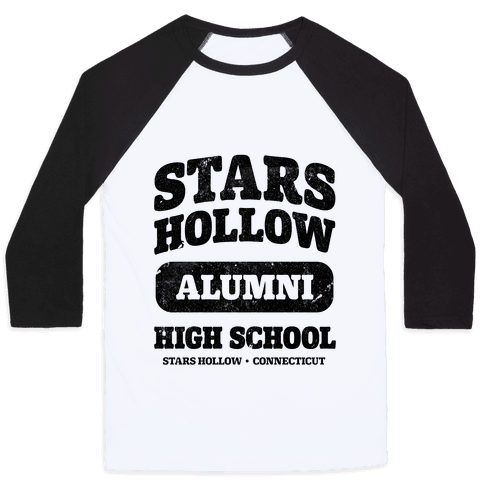 Stars Hollow High School Alumni Baseball Tee