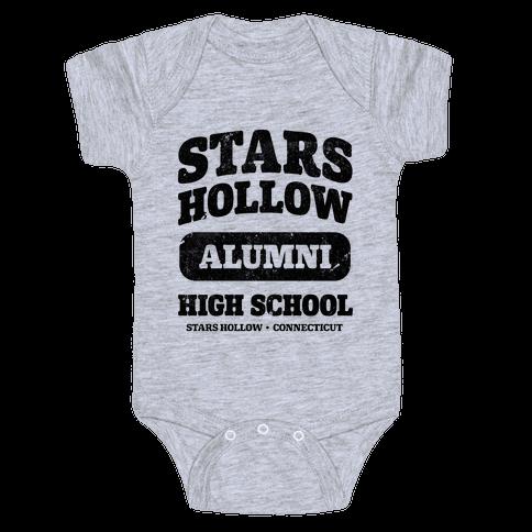 Stars Hollow High School Alumni Baby Onesy