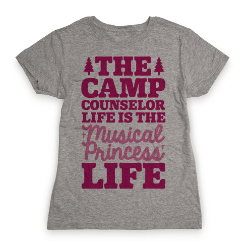 Camping Princess Womens T-Shirt