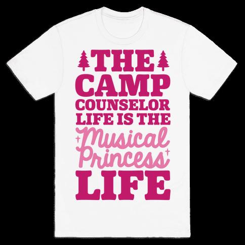 Camping Princess Mens T-Shirt