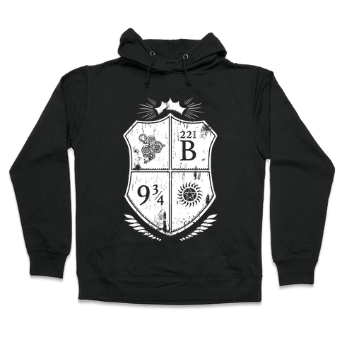 Fandom Family Crest Hooded Sweatshirt