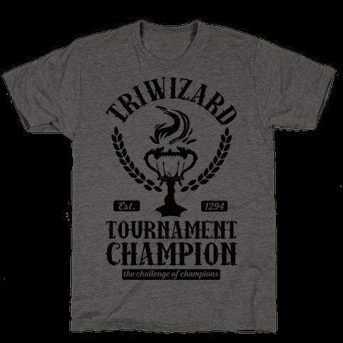 Triwizard Tournament Champion Mens T-Shirt