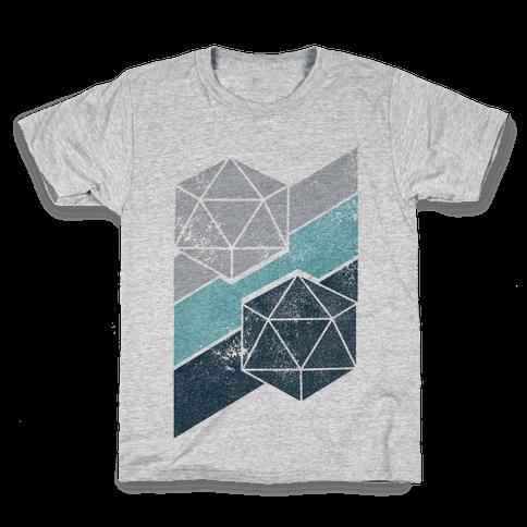 Winter Icosahedron Kids T-Shirt