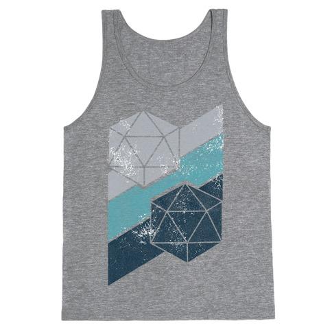 Winter Icosahedron Tank Top