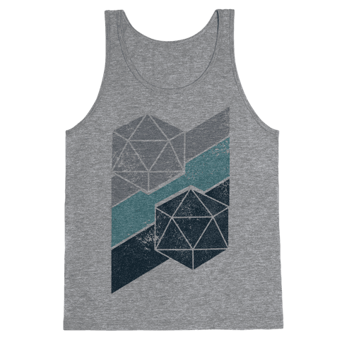 Winter Icosahedron Tank Top