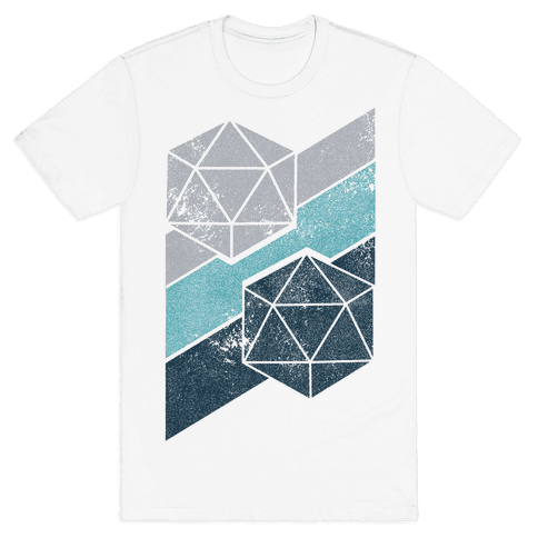 Winter Icosahedron Mens T-Shirt