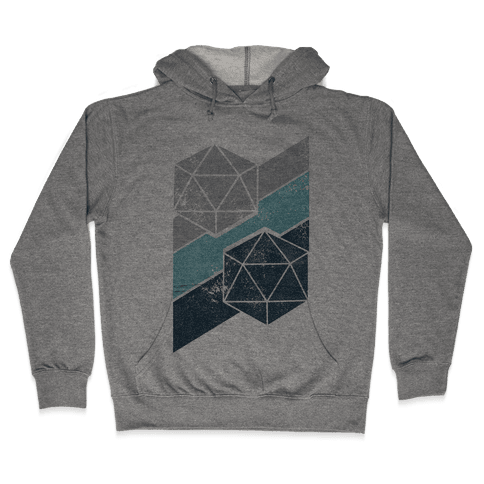 Winter Icosahedron Hooded Sweatshirt