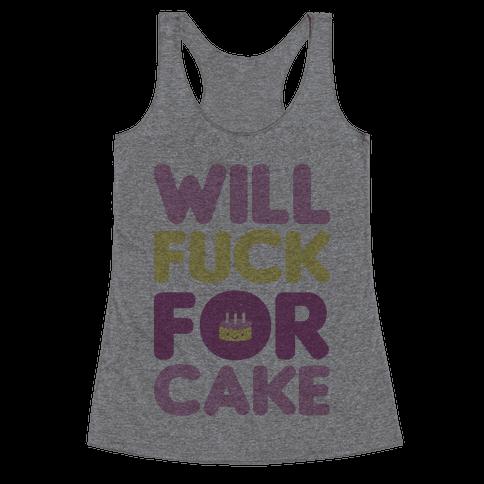 Cake Racerback Tank Top