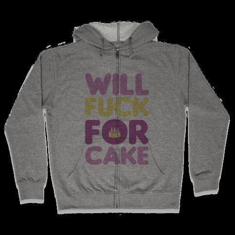 Cake Zip Hoodie