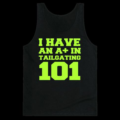 Tailgating 101 Tank Top