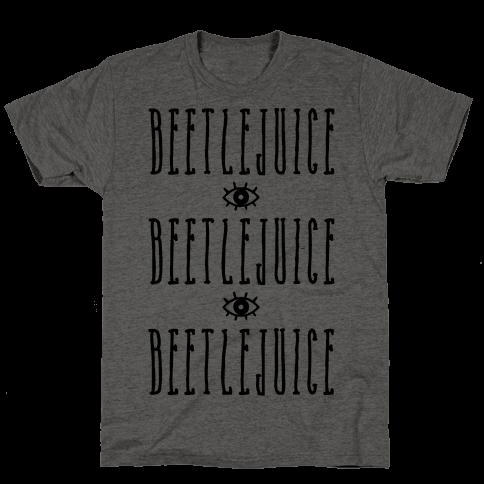 Beetlejuice Beetlejuice Beetlejuice Mens/Unisex T-Shirt