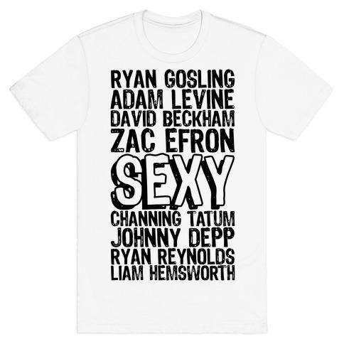 Sexy Men Mens/Unisex T-Shirt