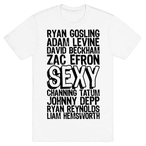 Sexy Men Mens T-Shirt