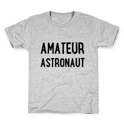 Amateur Astronaut Kids T-Shirt