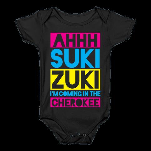 Ahhh Suki Zuki Baby Onesy