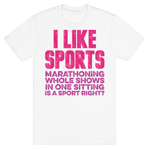 I Like Sports Mens T-Shirt