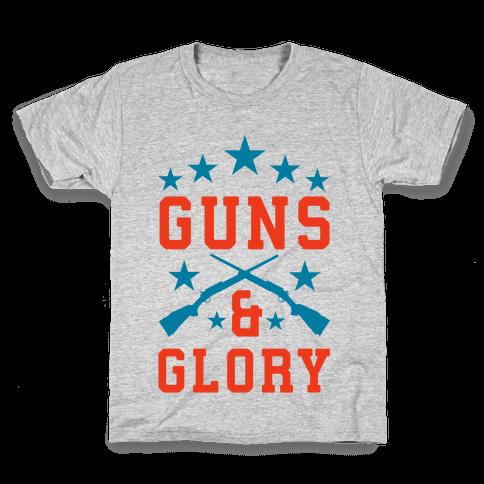 Guns and Glory Kids T-Shirt