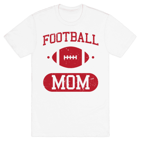 Football Mom Mens T-Shirt