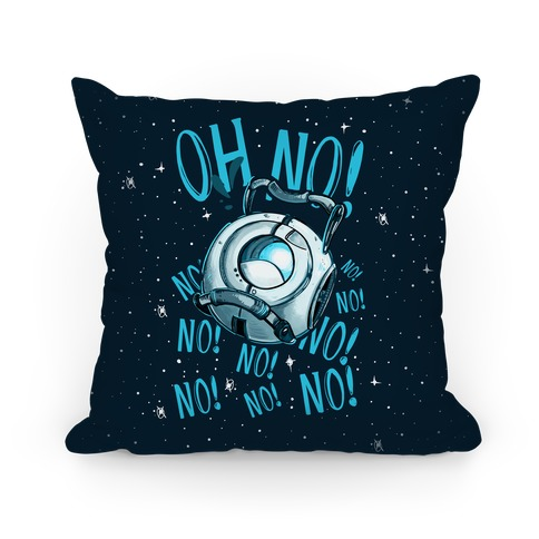 Oh No! (Wheatley) Pillow