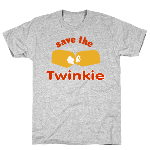 Save the Twinkie! Mens T-Shirt