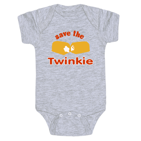 Save the Twinkie! Baby Onesy