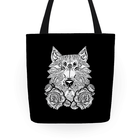 Seven Eyed Wolf Tote