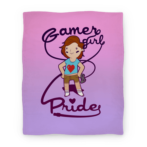 Gamer Girl Pride Blanket Blanket