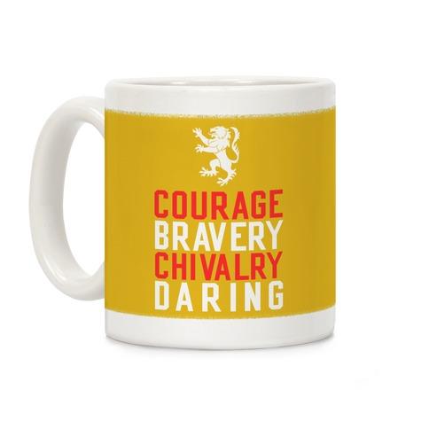 Gryffindor Qualities Coffee Mug