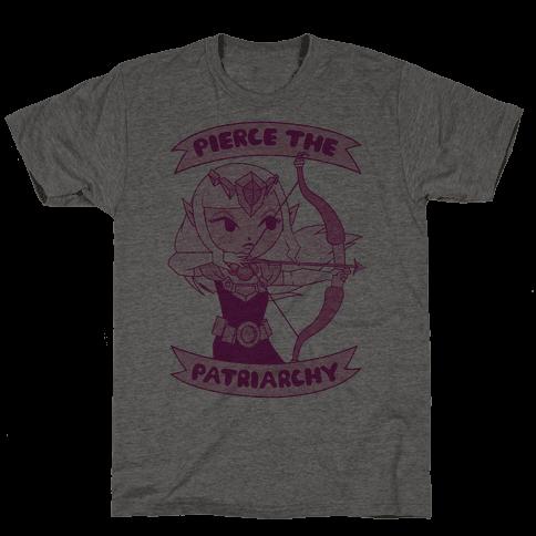 Pierce The Patriarchy Mens T-Shirt
