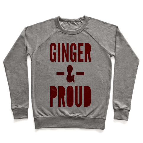Ginger & Proud Pullover