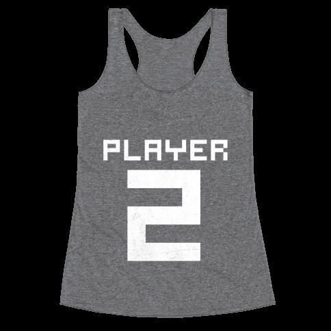 Player 2 Racerback Tank Top