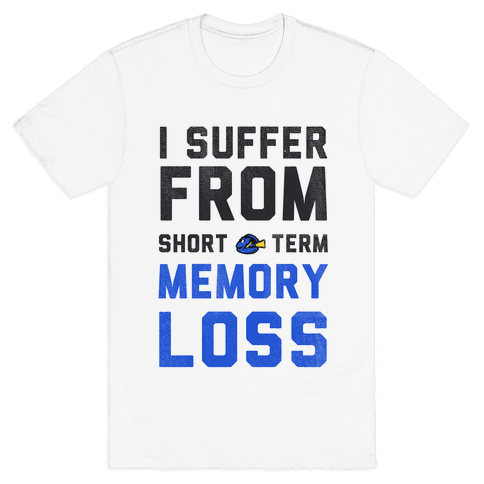 I Suffer from Short Term Memory Loss