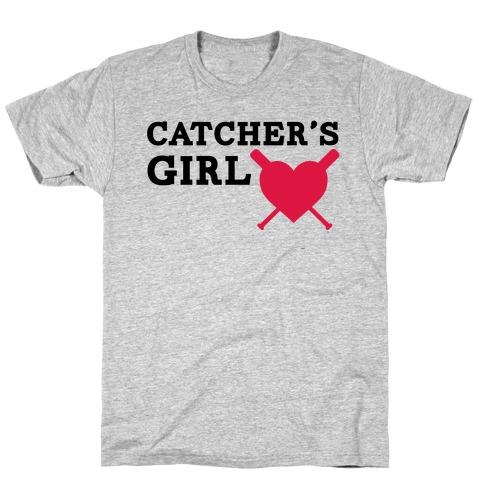 Catcher's Girl T-Shirt