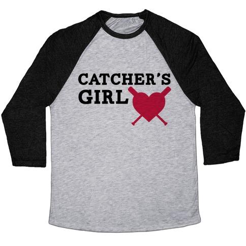 Catcher's Girl Baseball Tee
