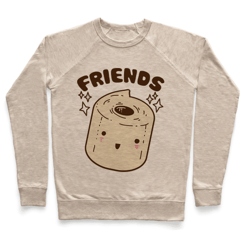 Best Friends TP & Poo (Toilet Paper Half) Pullover