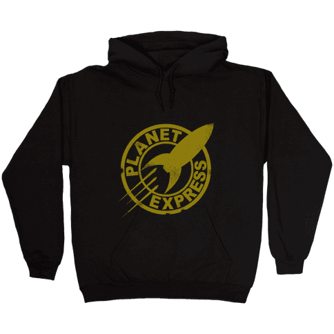Planet Express Hooded Sweatshirt