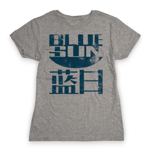 Blue Sun Womens T-Shirt