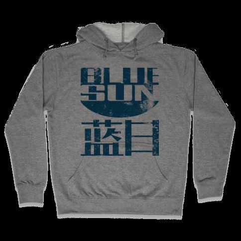 Blue Sun Hooded Sweatshirt
