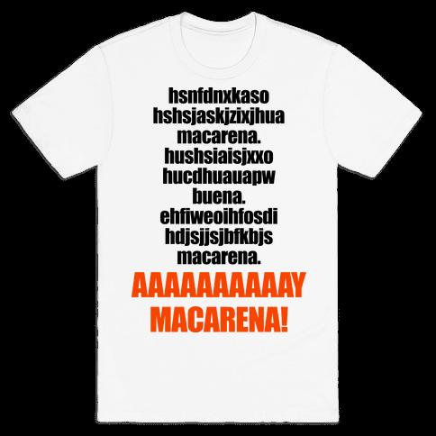 Macarena Mens T-Shirt