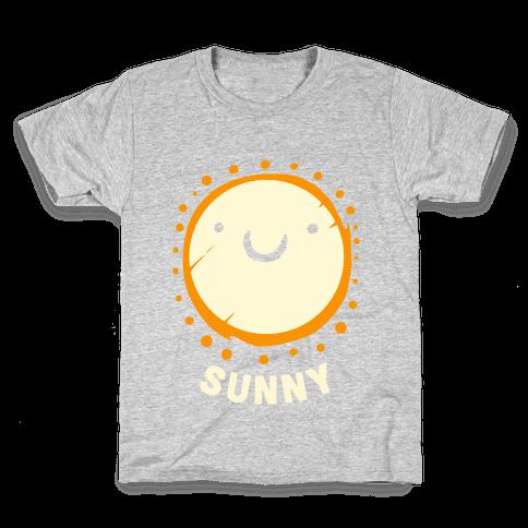 Sun & Grumpy Cloud (Part 2) Kids T-Shirt