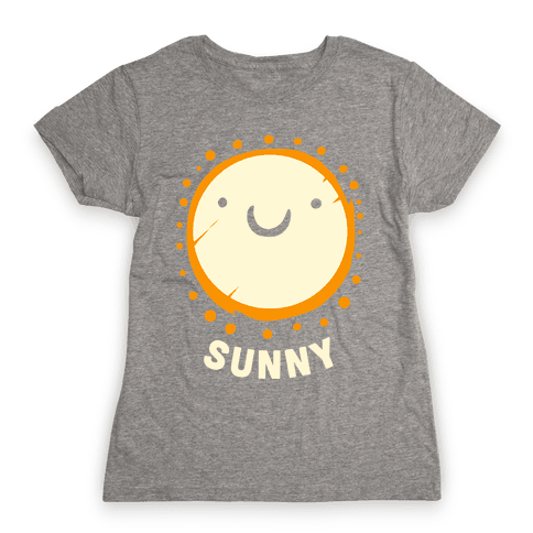 Sun & Grumpy Cloud (Part 2) Womens T-Shirt