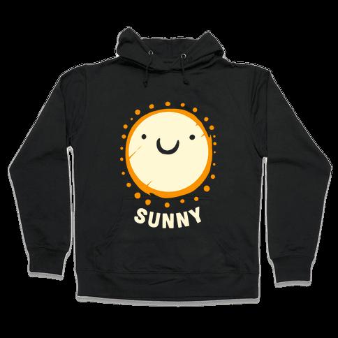 Sun & Grumpy Cloud (Part 2) Hooded Sweatshirt