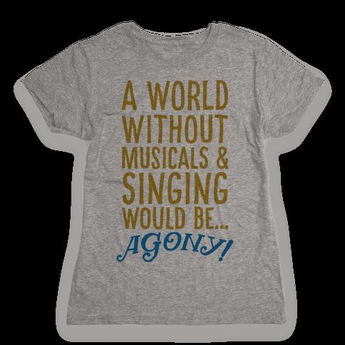Agony Womens T-Shirt