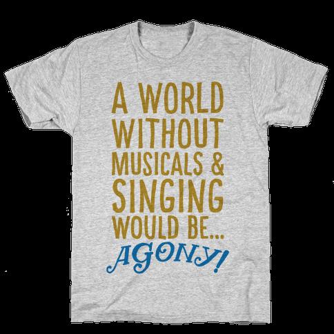 Agony Mens T-Shirt