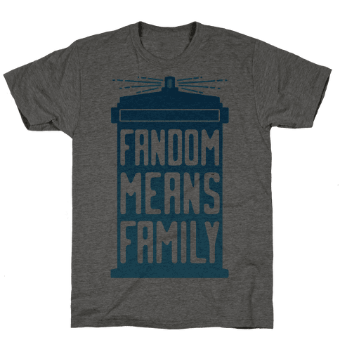 Fandom Means Family (Doctor Who)