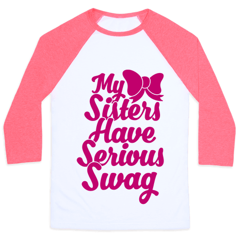 Sorority Swag Baseball Tee